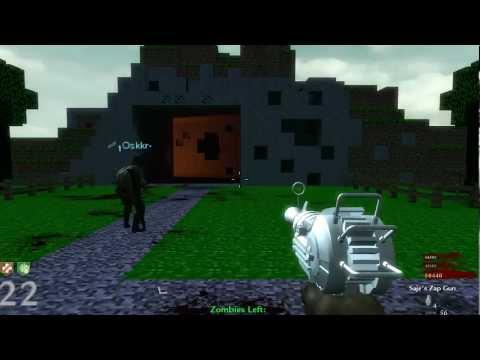 CUSTOM ZOMBIES | ZOMBIECRAFT - MINECRAFT (LiveGameplay ...