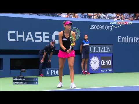 WTA 2015 US Open R3 V Williams vs B Bencic 1080i ENG ES
