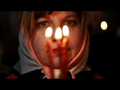 Orthodox Christians Observe Easter Sunday