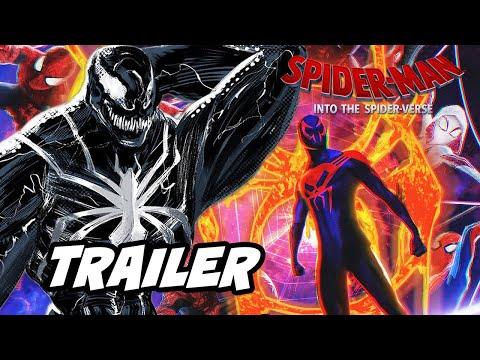 Spider-Man Into The Spider-Verse Trailer 2 Spider-Man Vs Green Goblin