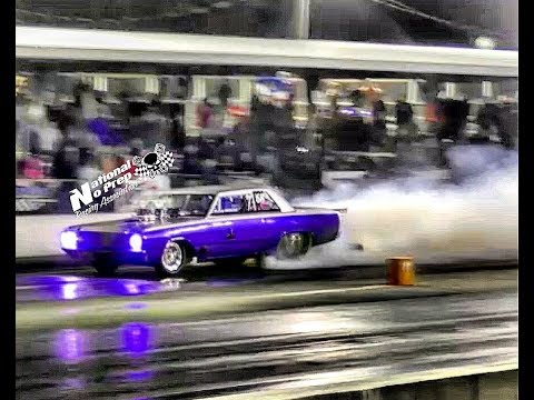 Track Doe hits the wall hard vs Purple Rain at the Kentucky Street Outlaws live no prep