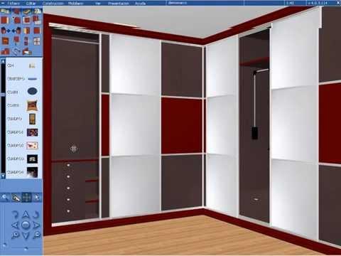 Programa para dise ar muebles cocinas closet armarios y Planos de gabinetes de cocina gratis
