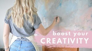 5 Ways to BOOST Your CREATIVITY | Artistic Life Hacks