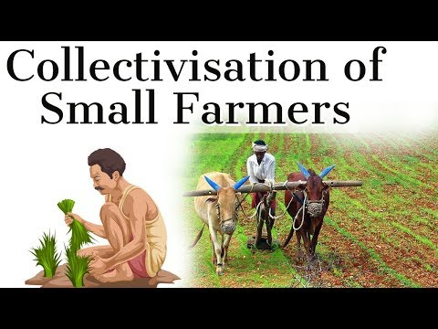 Collectivisation of Small Farmers in India,  Can it double farm income by 2022? Current Affairs 2018