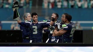 Madden NFL 20 Seahawks v Ravens Full Game | Superbowl