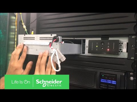 Replacing Battery on APC Smart-UPS SUA 2U Rack Mount UPS | Schneider  Electric Support