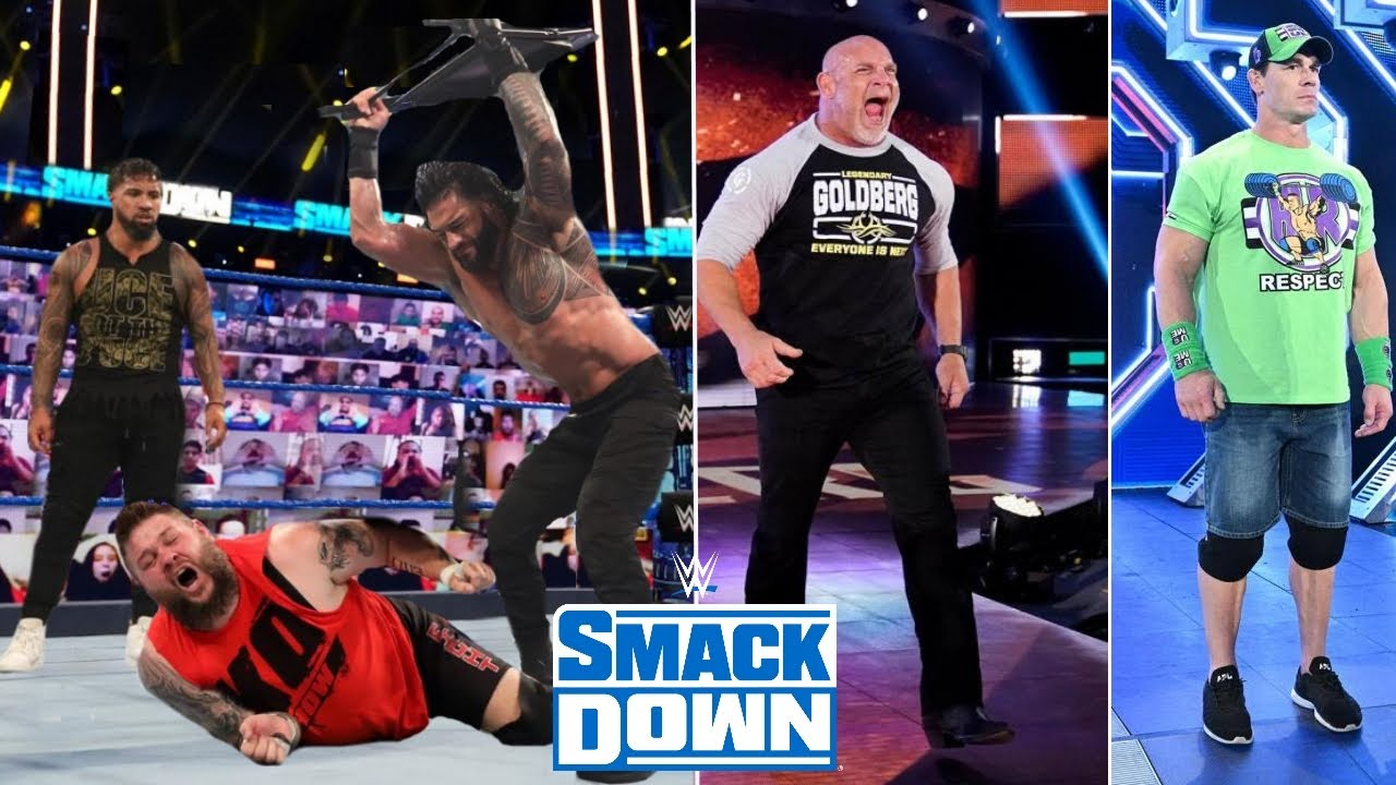 WWE Smackdown 4th December 2020 Highlights, Roman reigns Attack Kevin Owens   AEW Results Winners