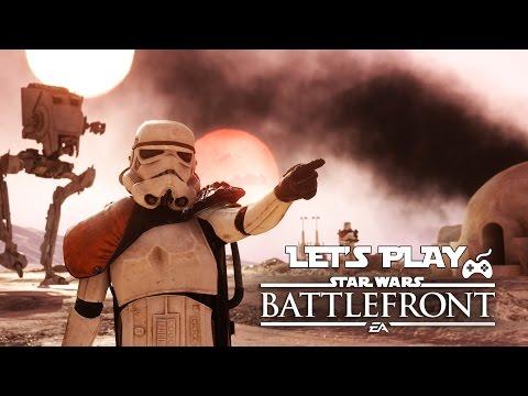 Let's Play - Star Wars Battlefront - Offline Battles Gameplay (1080p PS4)