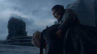 Daenerys and Jon||Game of Thrones||The End||Metallica - The Unforgiven ||