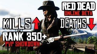 RANK 365 RED DEAD REDEMPTION 2 ONLINE // PAINT IT BLACK  PVP SHOWDOWN SERIES // EVANS REPEATER