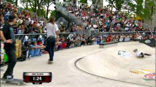 Maloof Money Cup NY 2011 Pro Finals Semi Round Jam 1 - Dennis Busenitz & Justin Figueroa