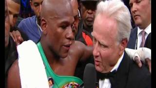 Larry Merchant Tells Floyd Mayweather 'If I Was 50 Years Younger I'd Kick Your Ass' Angry Interview