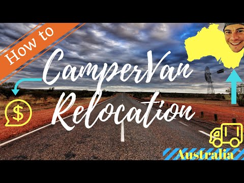Campervan Relocation Australia: A Complete Financial Guide