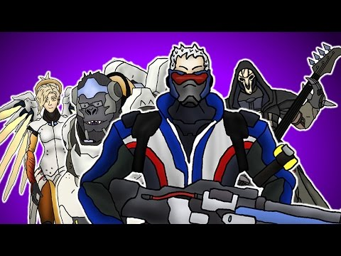 ♪ OVERWATCH THE MUSICAL - Animated Parody Song