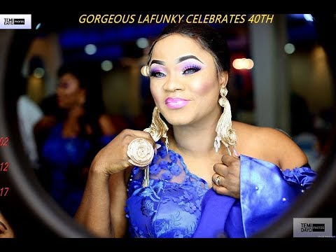 GORGEOUS LAFUNKY CELEBRATES 40TH part 2