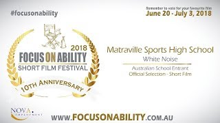 Matraville Sports High School - White Noise.