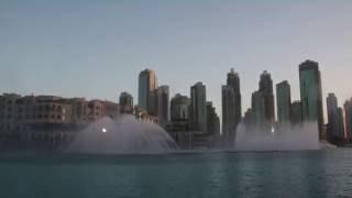 Танцующий фонтан в Дубае. Самостоятельные путешествия.