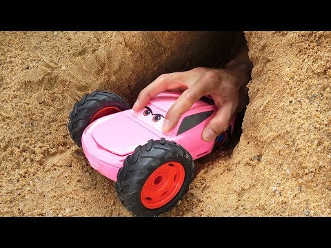 Pink Colors Disney Cars 3 Toys With Learn Colors And Assembling For Kids