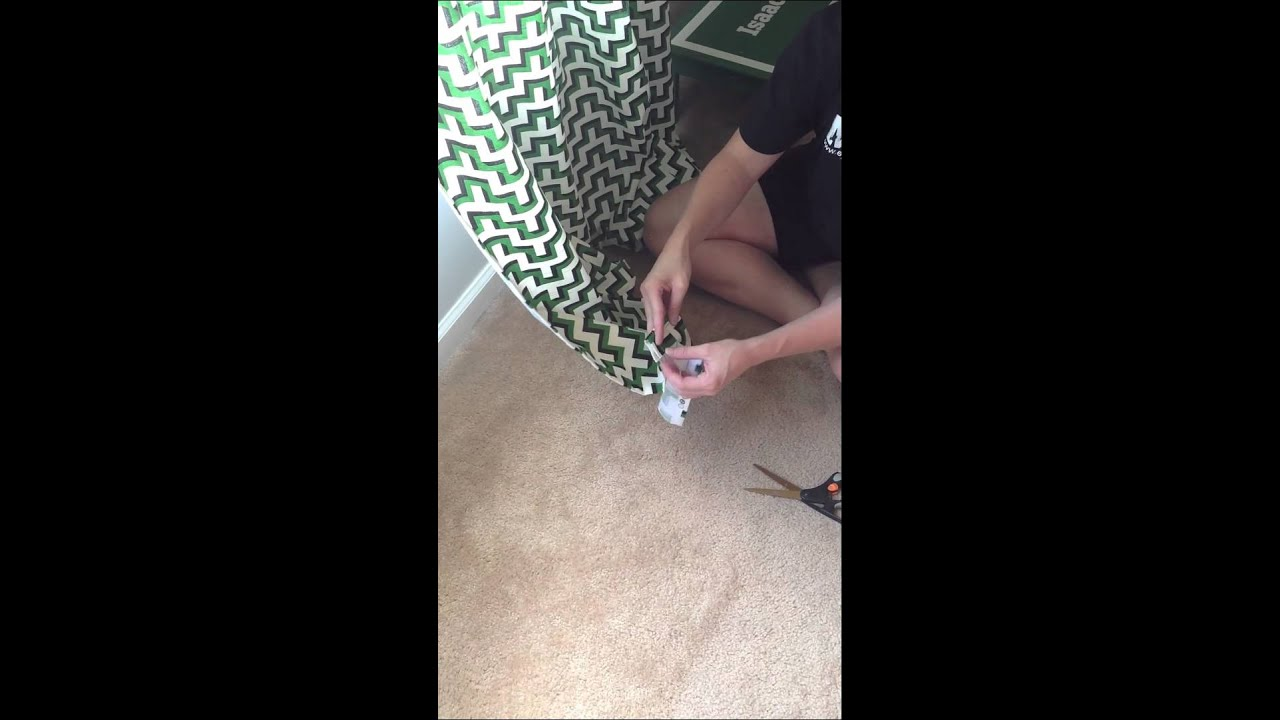 Hemming Curtains The Cheater Way By Infarrantly Creative YouTube