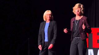 Reframe Your Thoughts | Diane Sawyer and Marcia Perkins | TEDxUWMilwaukee