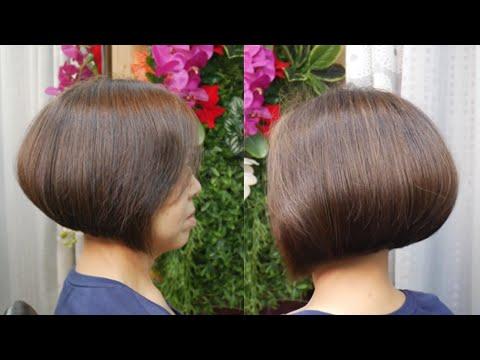 Perfect Bob haircut tutorial ตัดผมบ๊อบ สั้น ทุย ทุย สวย เพอร์เฟ็ก
