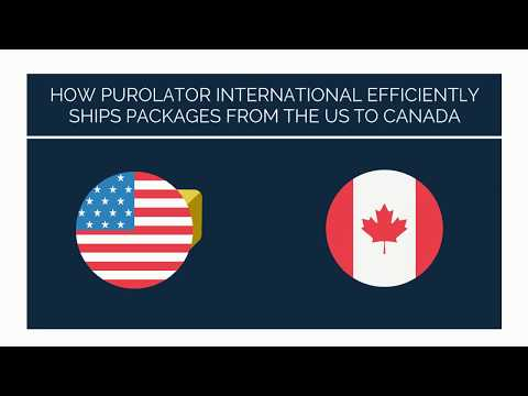 How Purolator International Efficiently Ships Packages From The US To Canada