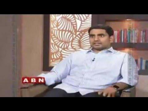 Interview with nara lokesh|| TDP ||