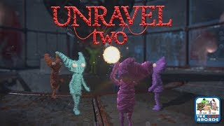 Unravel Two - Chapter VII: At the rapids, Walkthrough, THE END (Xbox One Gameplay)