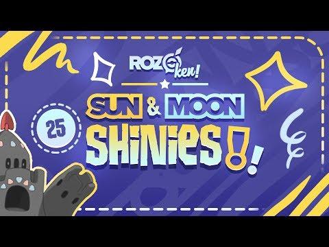 25 Live Sun & Moon Shiny Reactions! Shiny Pokemon Montage / Compilation!