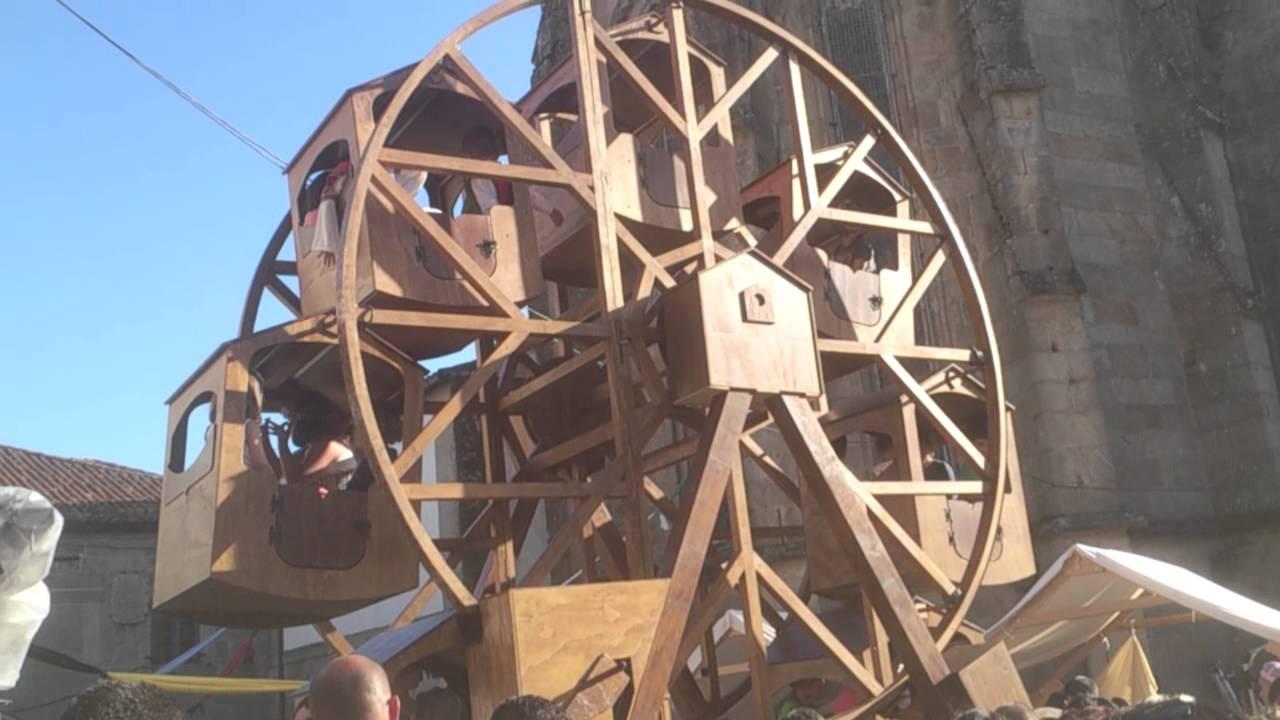 Noria de madera youtube - Proyectos de madera ...