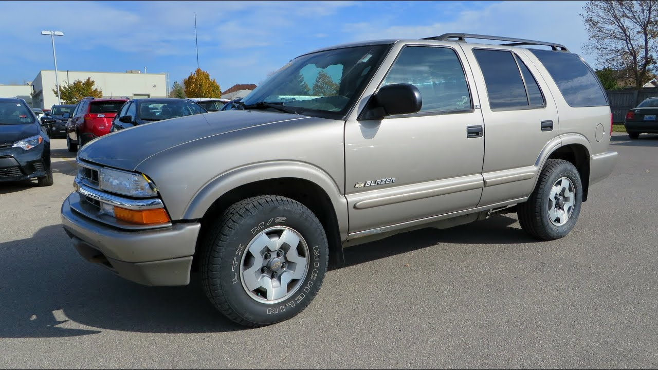 26+ 2003 Chevy Blazer 4 Door