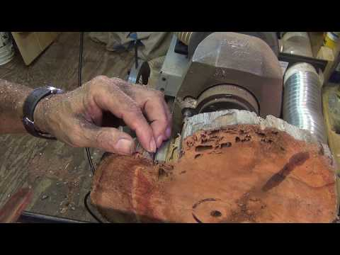 Easy approach to end grain turning