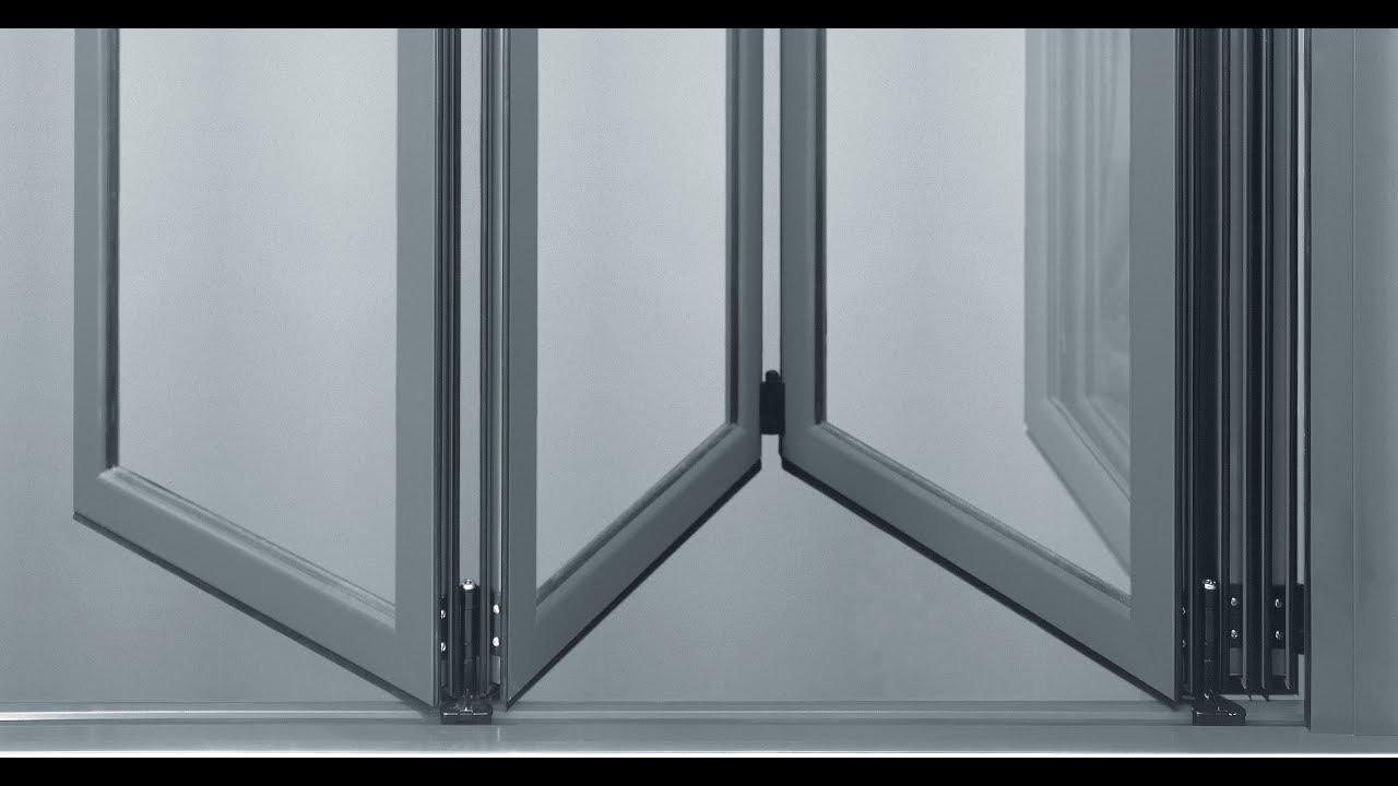 Cortinas de cristal puertas plegables correderas de - Puertas plegables de aluminio ...