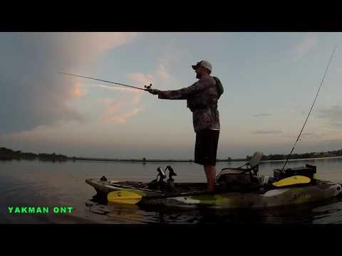 Kayak Fishing Lake Scugog