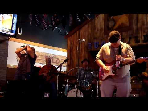 The Robbie Reid Band-She's Tough (cover)-HD-Buck Wild BBQ and Saloon-Wilmington, NC-3/9/14