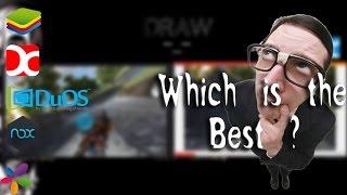 Top 5 Best Android Emulators for PC 2017 | Droid4X VS NOX 2017 Ultimate Battle