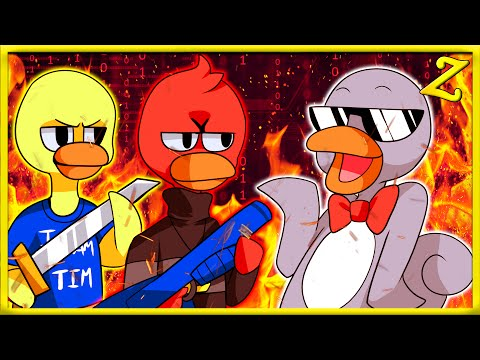 ROOMMATES AND DUCKS!! | Duck Game!