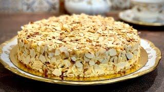 Бадемова торта с неустоим вкус без брашно Миндальный торт вкуснейший без муки