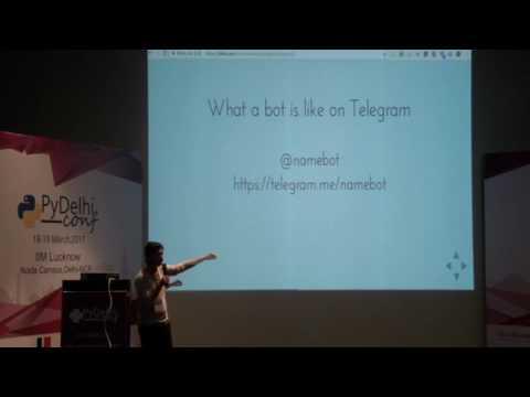 Telegram bot using Python