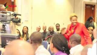 smartKenya_ Eric Omondi @ London Barclays Pingit App Launch