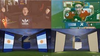LE TOP DES MEILLEURS PACKS DU MOIS DE JANVIER ! FIFA 18 (FR) , PARTIE 1
