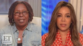 Sunny Hostin, Whoopi Goldberg Reacts To Alleged Racial Slurs