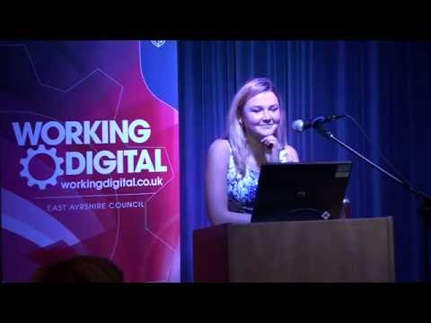 Amber Atherton at Working Digital 2014