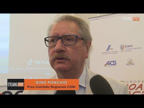 INTERVISTA A DINO PONCHIO - Presidente Comitato Regionale CONI