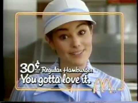 Jami Gertz 1982 McDonald's Commercial