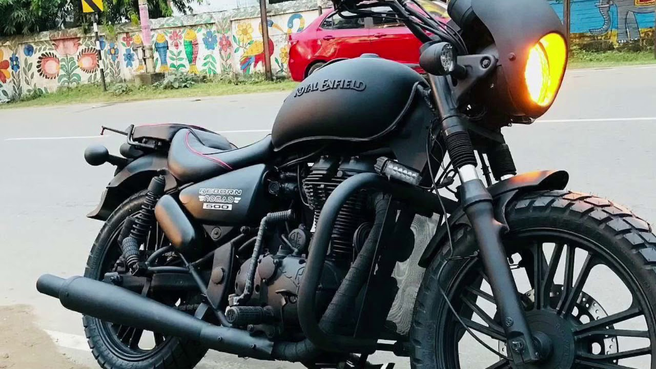 thunderbird 500 modified enfield bullet modified custom bike