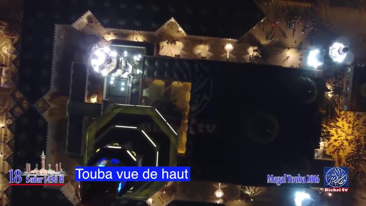 Magal Touba 2016 Vue De Haut La Nuit Youtube