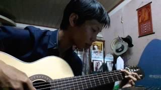 On rainy day - guitar solo chơi