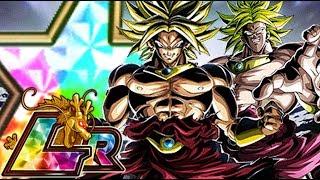 100% LR TRANSFORMING BROLY SHOWCASE | Dragon Ball Z Dokkan Battle