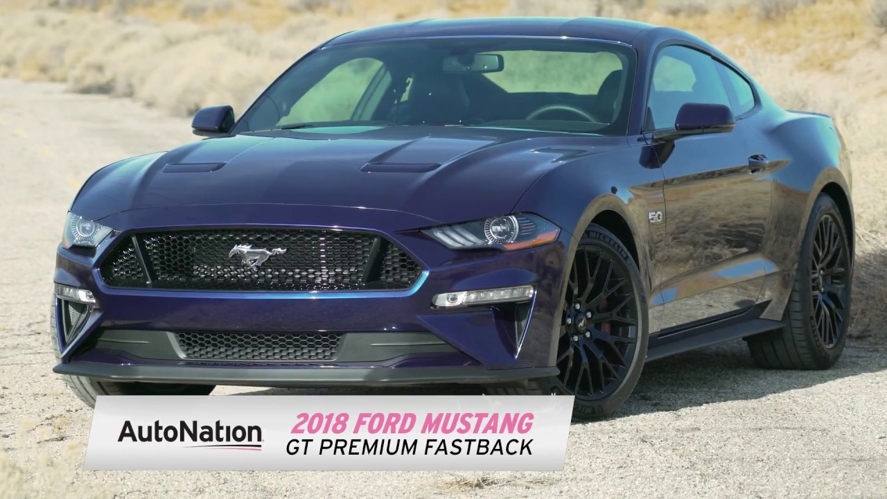Autonation 2018 ford mustang gt test drive review
